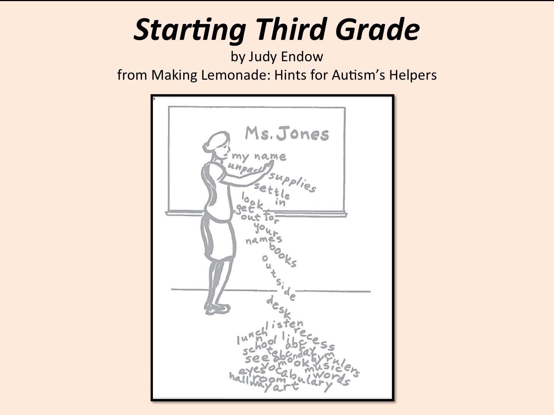 Starting 3rd Grade