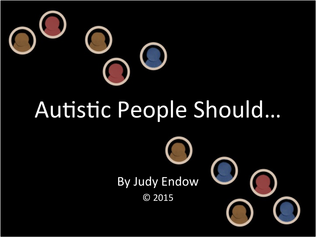 Autistic People Should Preview